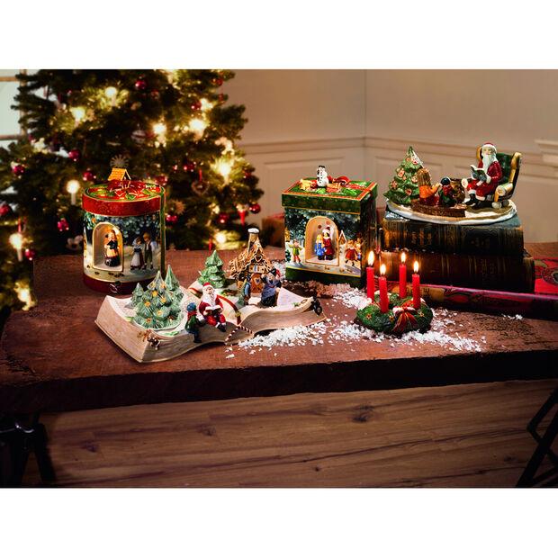 Albero Di Natale Grande.Christmas Toy S Pacchetto Regalo Grande Rettangolare Albero Di Natale 16 X 16 X 21 5 Cm Villeroy Boch