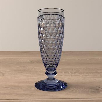 Boston Coloured Sektglas Blue