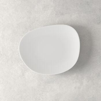 Organic White assiette à dessert, blanche, 21cm