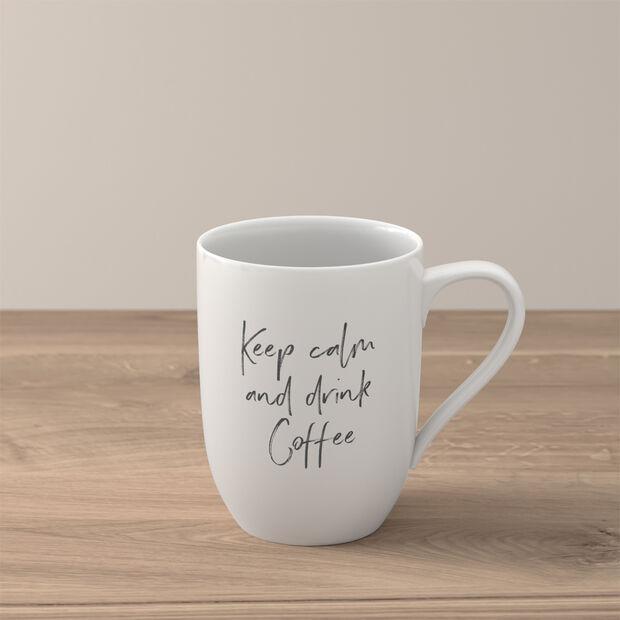 Statement mug «Keep calm and drink coffee», , large