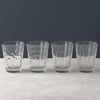 Dressed Up set di bicchieri da acqua Smoke 4 pezzi
