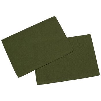 Textil Uni TREND Platzset dunkelgrün S2 35x50cm