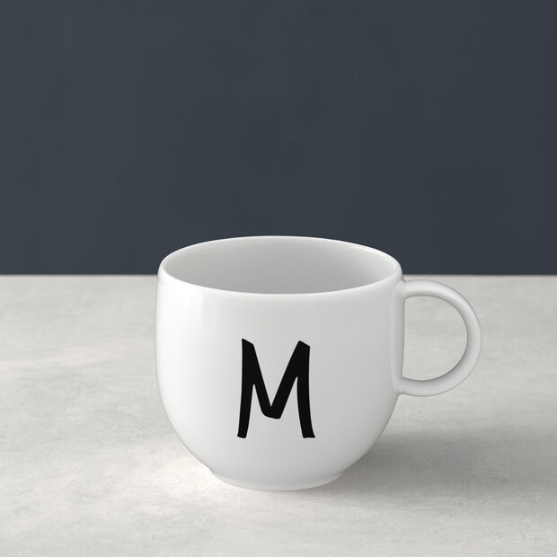 Mug Letters M 13x10x8cm, , large