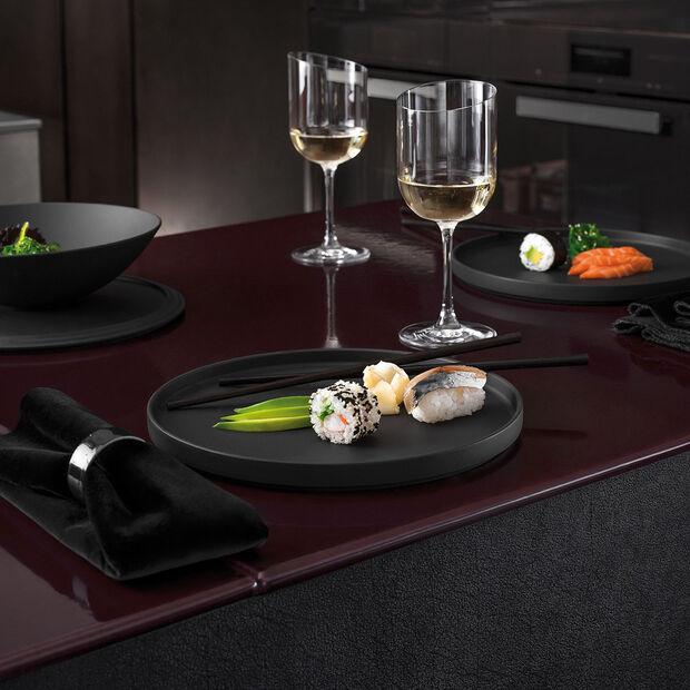Iconic piatto universale, nero, 24 x 2 cm, , large