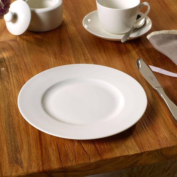 Twist White piatto piano, , large