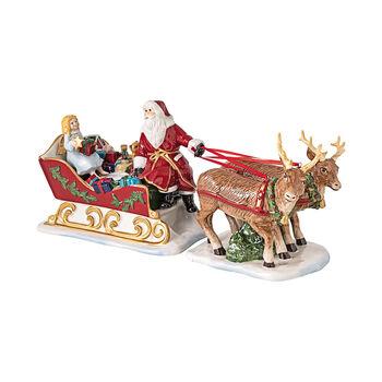 Christmas Toys traîneau, rétro, 36x14x17cm