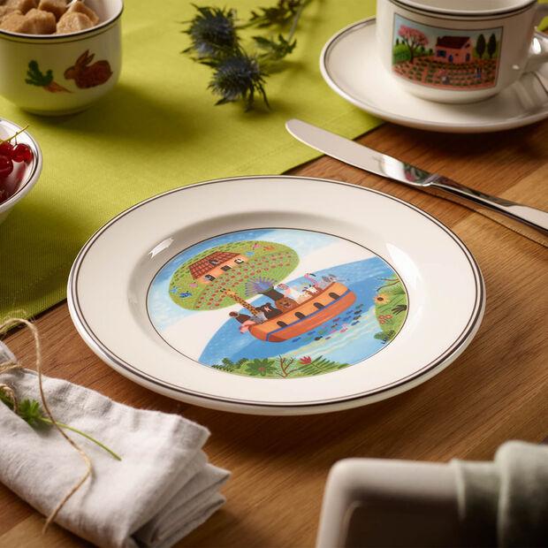 Design Naif assiette à dessert motif arche de Noé, , large
