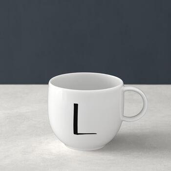 Mug Letters L 13x10x8cm