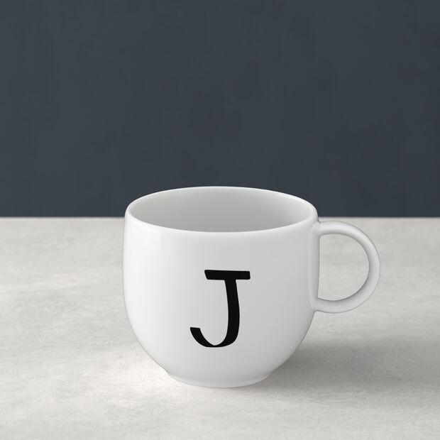 Letters Becher J 13x10x8cm, , large
