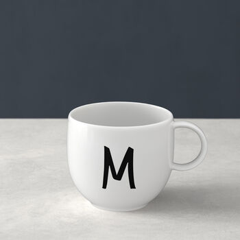 Mug Letters M 13x10x8cm