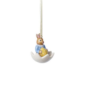 Bunny Tales ornamento Max nella ciotola uovo
