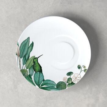 Avarua sous-tasse à café, 18,5cm, blanche/multicolore