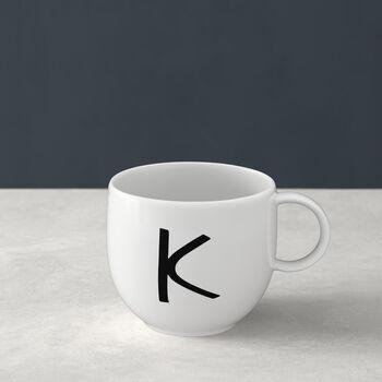 Mug Letters K 13x10x8cm
