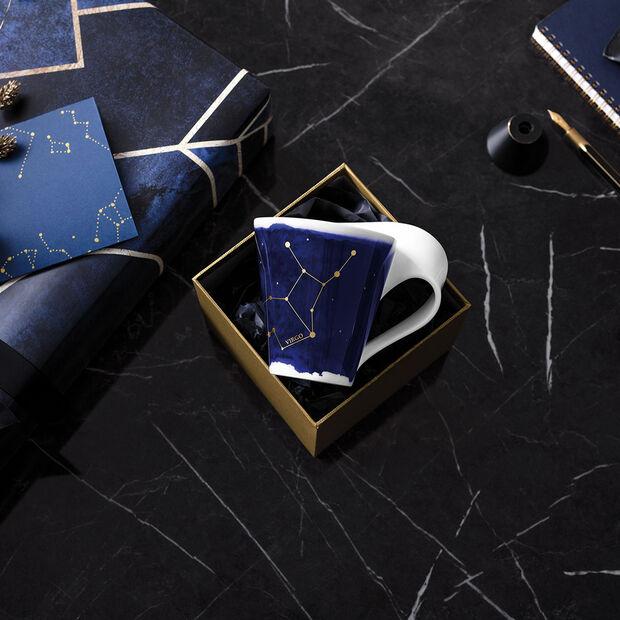 NewWave Stars Becher Jungfrau, 300 ml, Blau/Weiß, , large