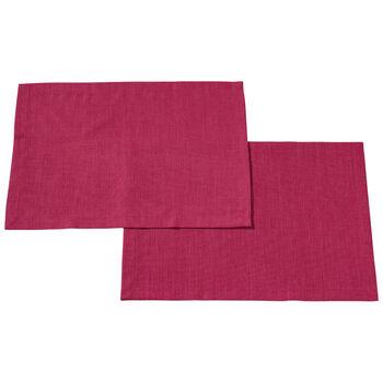 Textil Uni TREND Set de table Red Plum S2 35x50cm