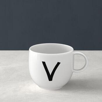 Mug Letters V 13x10x8cm