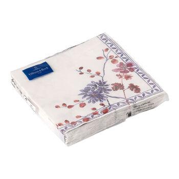 Serviettes en papier Artesano Provencal Lavendel, 20pièces, 33x33cm