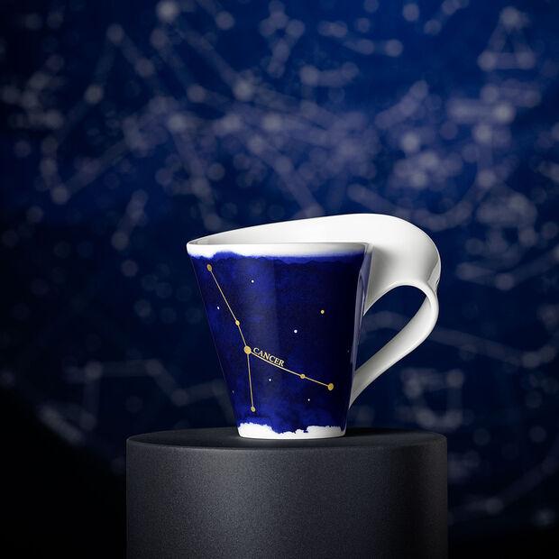 NewWave Stars Becher Krebs, 300 ml, Blau/Weiß, , large