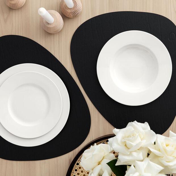 Twist White assiette plate, , large