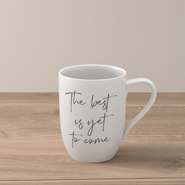 """Statement tazza """"The best is yet to come"""", , large"""