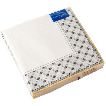 Serviettes en papier Audun, 20pièces, 33x33cm