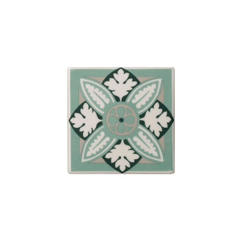 Table Accessories Set sottobicchieri 2 pz. Jade Caro 11x11cm