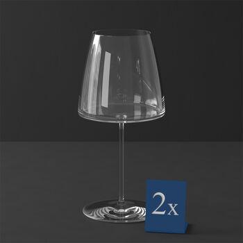 MetroChic Rotweinglas, 2 Stück, 830 ml