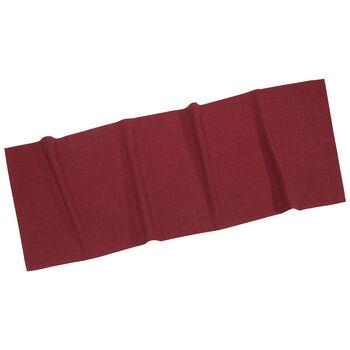 Textil Uni TREND Striscia bordeaux 50x140cm
