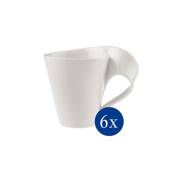 NewWave Caffè Kaffeebecher, 300 ml, 6 Stück