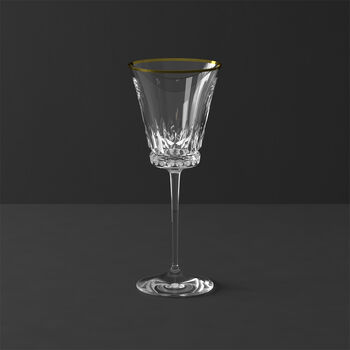 Verre à vin blanc 216mm Grand Royal Gold