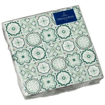 Serviettes en papier Jade Caro, 20pièces, 25x25cm