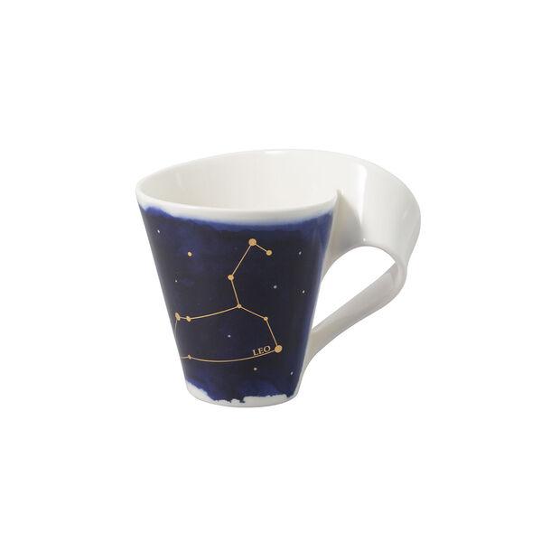 NewWave Stars mug lion, 300ml, bleu/blanc, , large