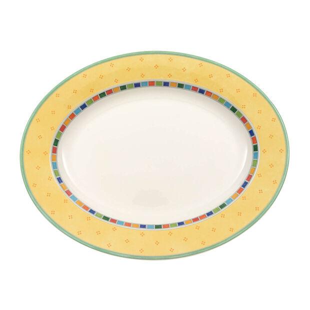 Twist Alea Limone piatto ovale 34 cm, , large
