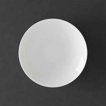 MetroChic blanc piatto fondo, diametro 20 cm, profondità 5 cm, bianco