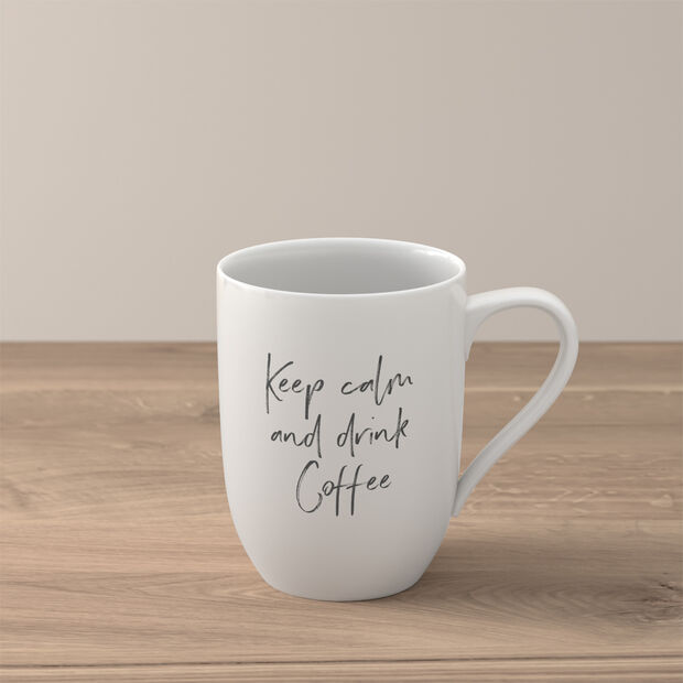 """Statement Becher """"Keep calm and drink coffee"""", , large"""