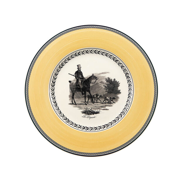 Audun Chasse assiette plate, , large