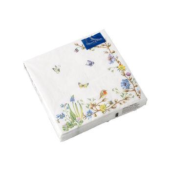 Oster Accessoires Servietten, Blumenranke, 25x25cm, 20 Stück