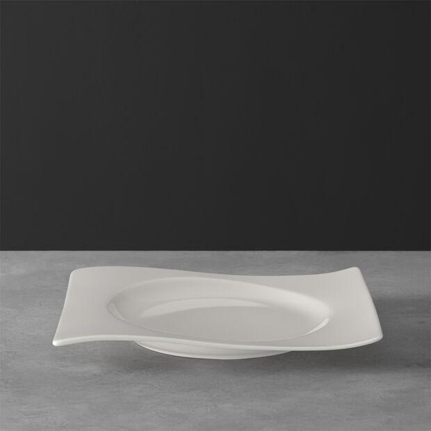 NewWave piatto da colazione rettangolare 24 x 22 cm, , large
