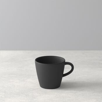 Manufacture Rock tazzina da espresso, nero/grigio, 8,5 x 6,5 x 6 cm
