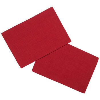 Textil Uni TREND Platzset rot S2 35x50cm