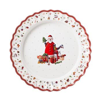 Toy's Delight piatto da portata, multicolore/rosso/bianco, 45 cm