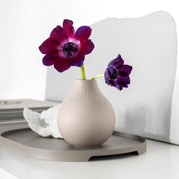 Manufacture Collier Vase, 11x12cm, Perle, Beige, , large