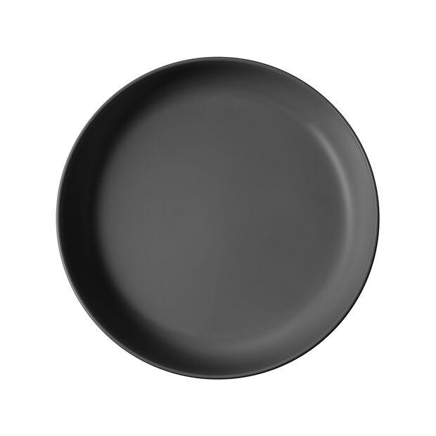 Iconic ciotola piana, nero, 24 x 4 cm, 1,1 l, , large
