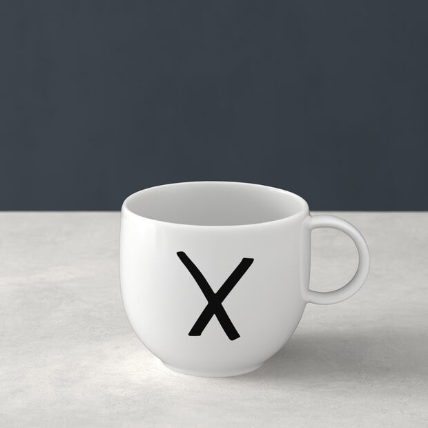 Letters Tazze X 13x10x8cm, , large