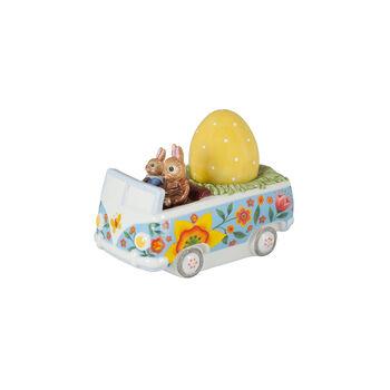 Bunny Tales Figur Bus, bunt