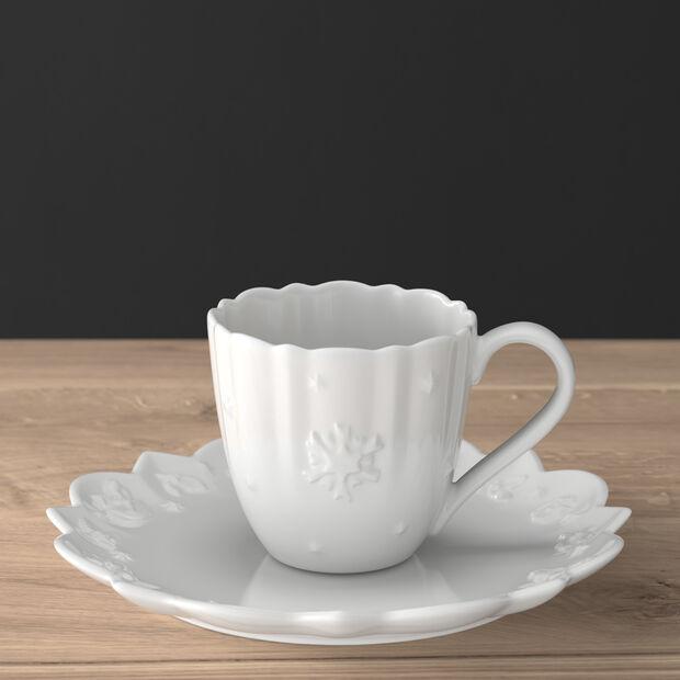 Toy's Delight Royal Classic Tasse à café/thé avec soucoupe 2pcs, , large