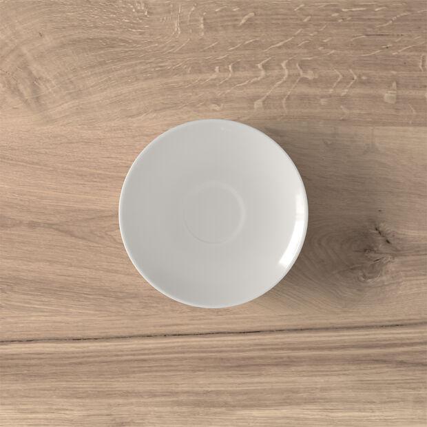 Twist White Mokka-/Espresso-Untertasse, , large