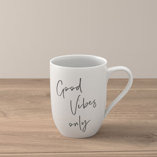 """Statement Becher """"Good Vibes only"""", , large"""