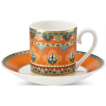 Samarkand Mandarin Tazza espresso con piattino 2pz.