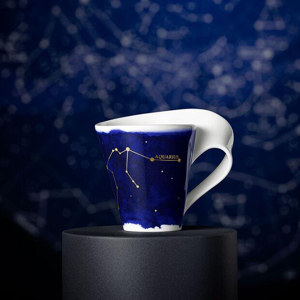 NewWave Stars mug verseau, 300ml, bleu/blanc, , large